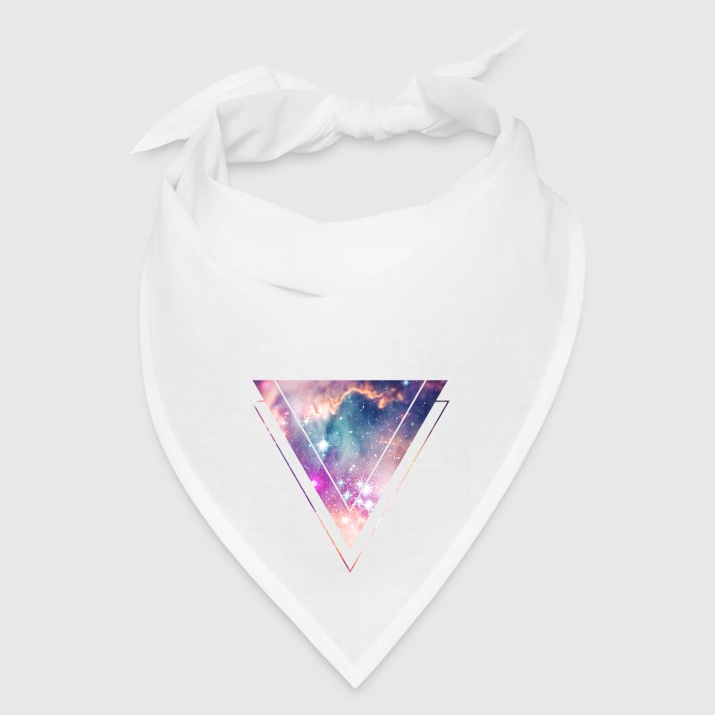 Galaxy - Space - Universe / Hipster Triangle - Bandana