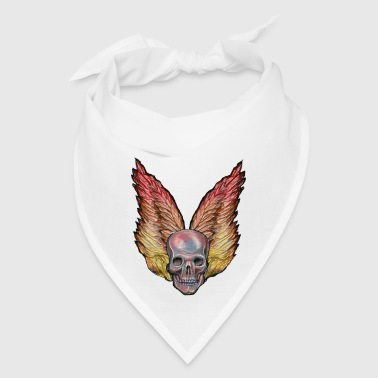 winged skull - Bandana
