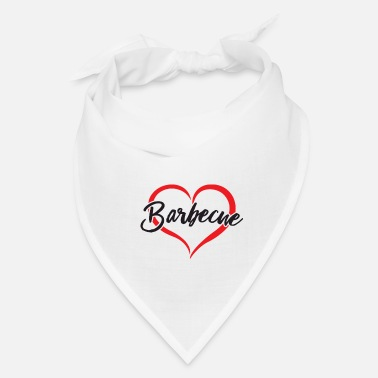 BBQ I love barbecue - Bandana