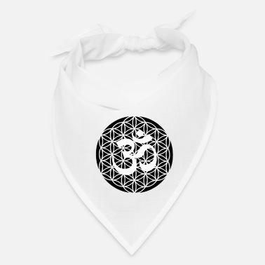 Buddhism Flower of Life Flower of Life with Om Gift Idea - Bandana