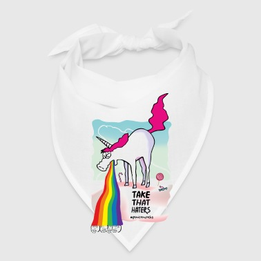 Unicorn vomiting rainbow - Bandana