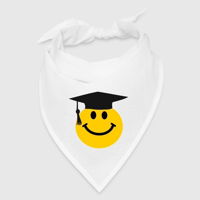 Graduate Smiley face - Bandana