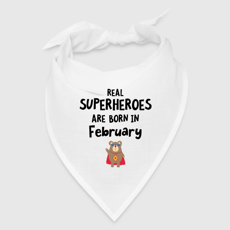 Superheroes are born in February Sf00i - Bandana