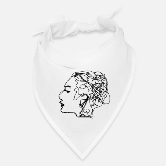 Wife Caps - Psychology - Bandana white