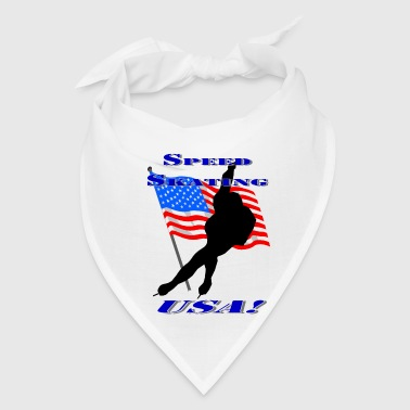Speed Skating USA - Bandana