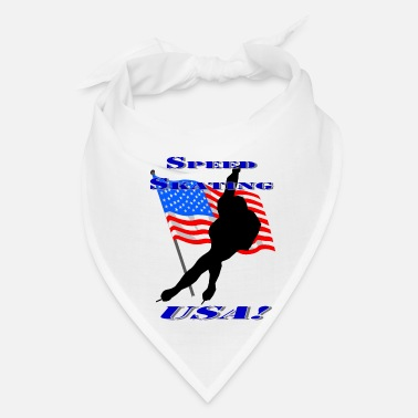 Skate Speed Skating USA - Bandana