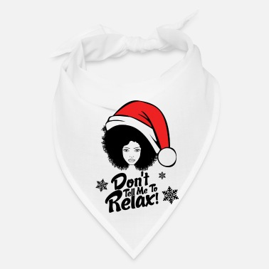 Afro Don't Tell Me - Christmas - Bandana