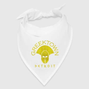 Greektown Detroit Clothing Apparel Shirts - Bandana