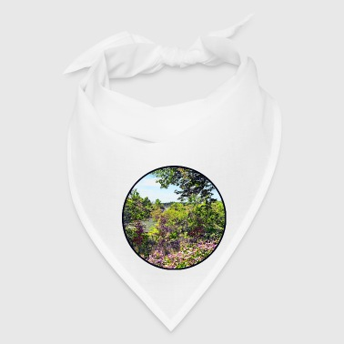Niagara Fall NY - Flowers on Three Sisters Islands - Bandana