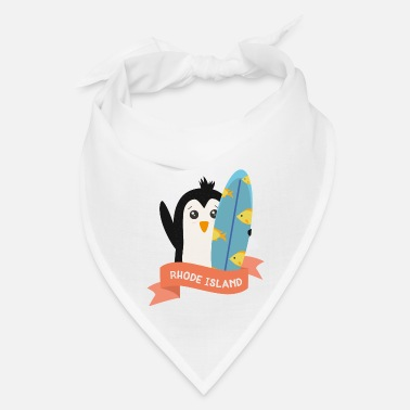 Island Penguin Surfer from Rhode Island Sv28am - Bandana