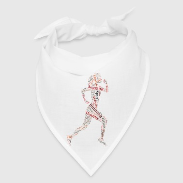 Running girl - Bandana