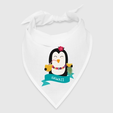Penguin Hawaii from HAWAII  Gift - Bandana