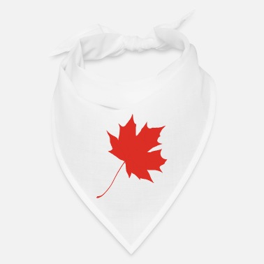 Leaf Red maple leaf - Bandana