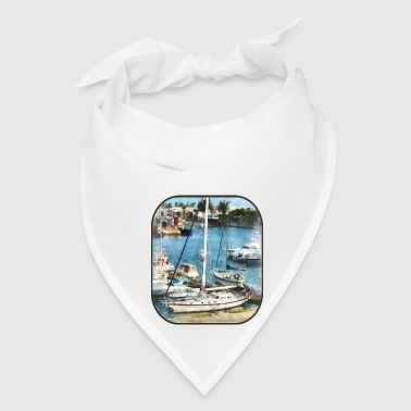 Bermuda - Boats at King's Wharf - Bandana
