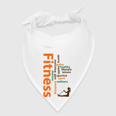 Fitness words - Bandana