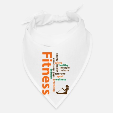 Word Fitness words - Bandana