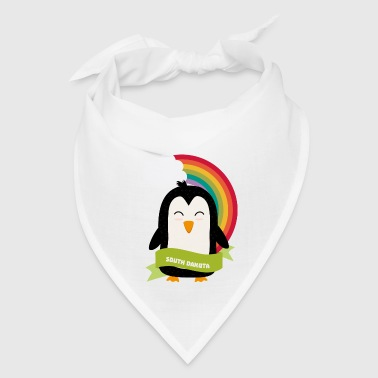 Penguin Rainbow from South Dakota Sg7oey - Bandana