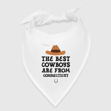 The best Cowboys are from Connecticut  Gift - Bandana