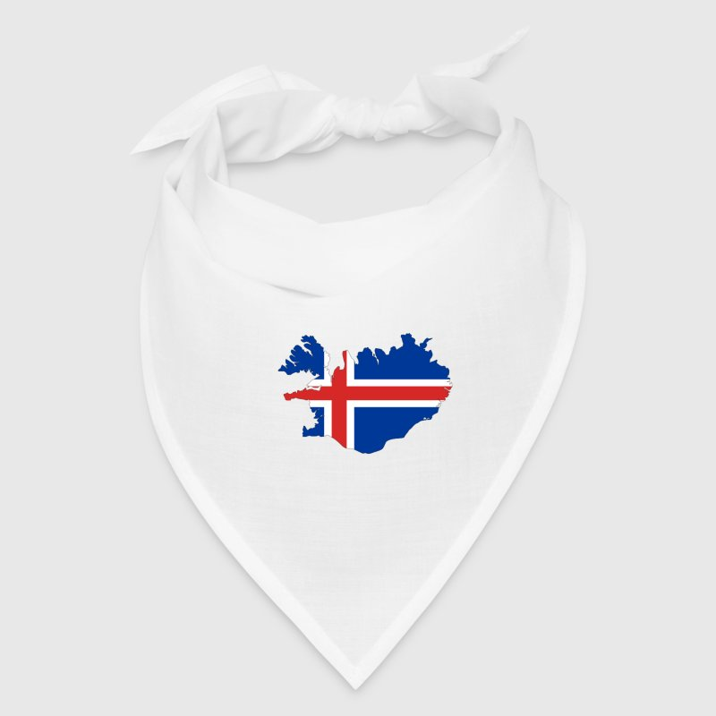 Flag of Iceland - Bandana