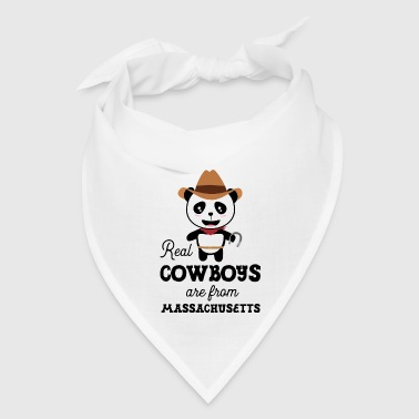 Real Cowboys are from Massachusetts - Bandana