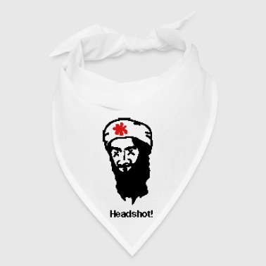 Head Shot Osama Bin Laden Headshot! - Bandana