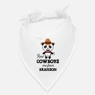 Global Real Cowboys are from Branson Szksp9 - Bandana