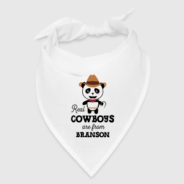 Real Cowboys are from Branson Szksp9 - Bandana
