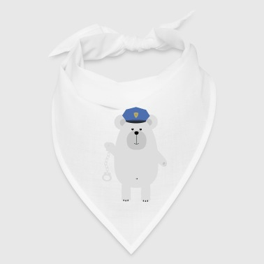 Polar bear with handcuffs - Bandana