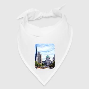 Harrisburg PA - Capitol Building Seen from State S - Bandana