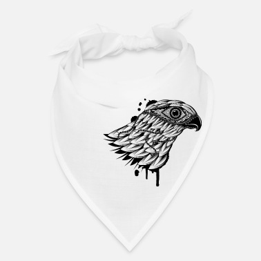 Bird Of Prey head of a falcon - Bandana