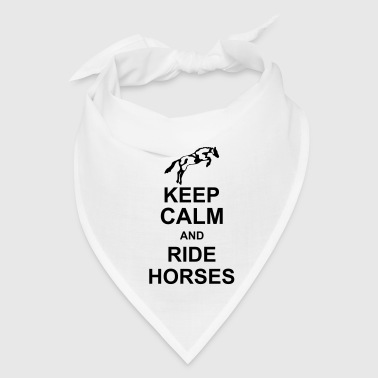 keep_calm_and_rider_horses_g1 - Bandana
