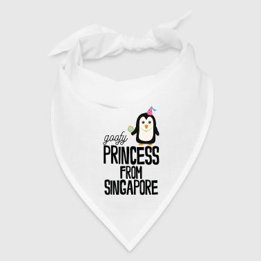 goofy Princess from Singapore - Bandana