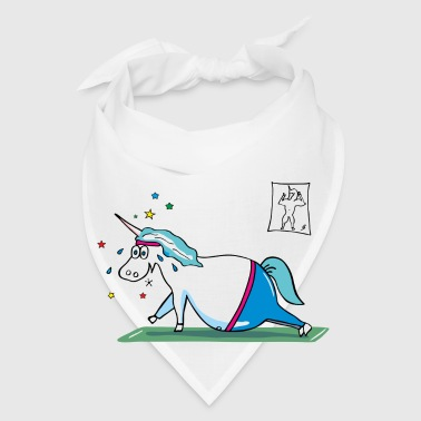 Cute Fat Unicorn - Bandana