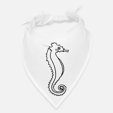 Under Water A cute under water sea horse. For animal lover. - Bandana