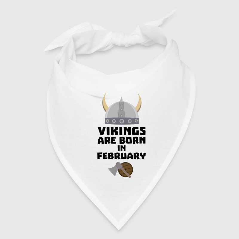 Vikings are born in February Sh6oh - Bandana