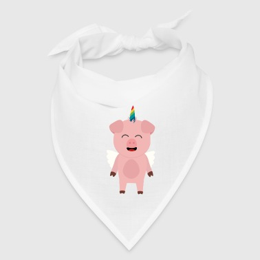 Pig with Unicorn Horn - Bandana