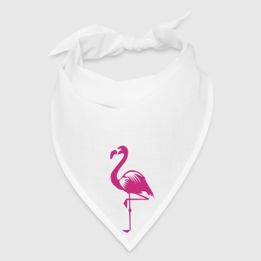 flamingo pink water bird tropical - Bandana
