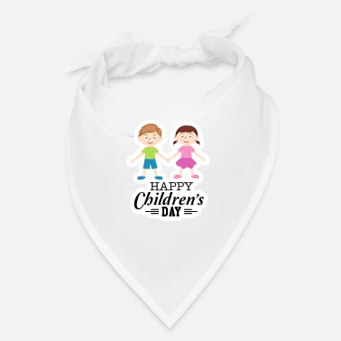 Happy Childrens Day Happy Children Day - Bandana