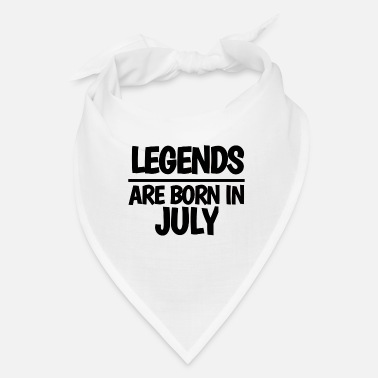 Born In July LEGENDS ARE BORN IN JULY - Bandana