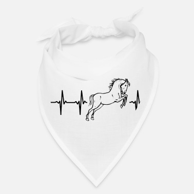 Animal My heart beats for horses - Bandana