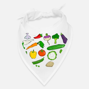 Vegetables vegetables - Bandana