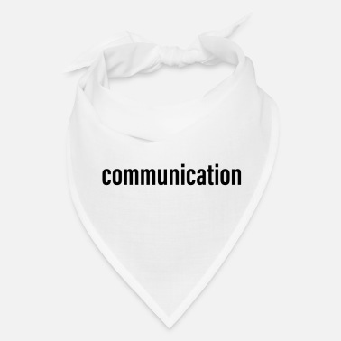 Community Communication - Bandana
