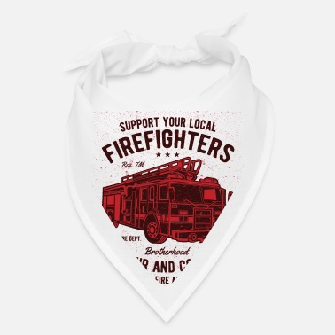Support Support Firefighters - Bandana