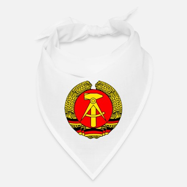 GDR coat of arms retro east germany wall soviet LO - Bandana
