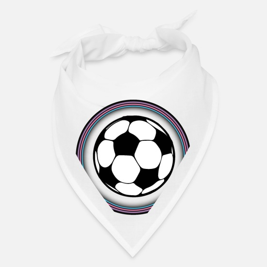 Soccer Ball Caps - Ball - Bandana white