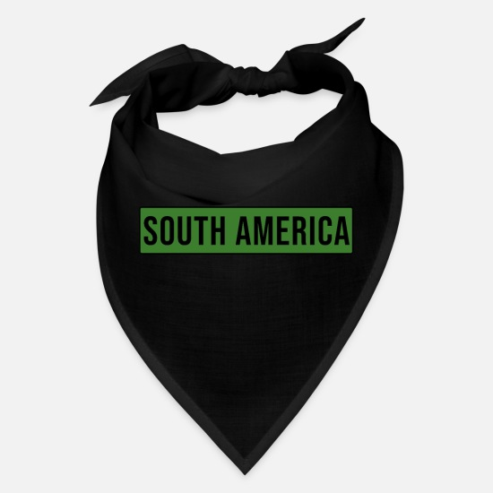 South America Caps - South America - Bandana black