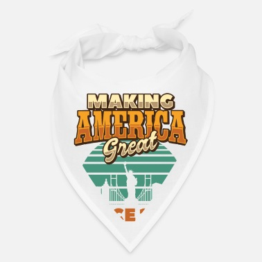 Making America Great Since 1973 Vintage Birthday - Bandana