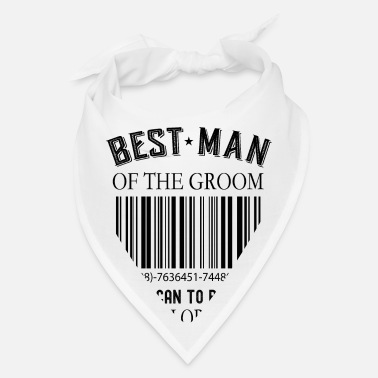 Geschenk Best Man Of The Groom - Scan To Pay This Bachelor - Bandana