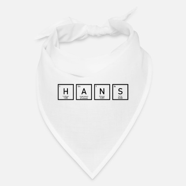 Hans Hans - Periodic Table - Bandana