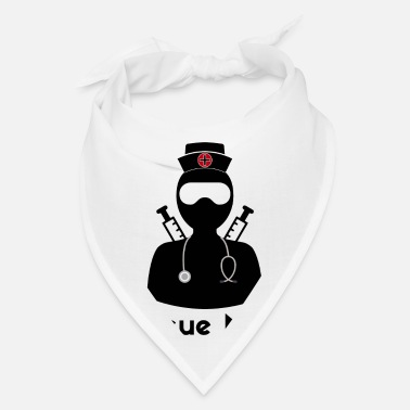 Forensic Nurse Funny Rescue Ninja - Funny Registered Nurse - Bandana